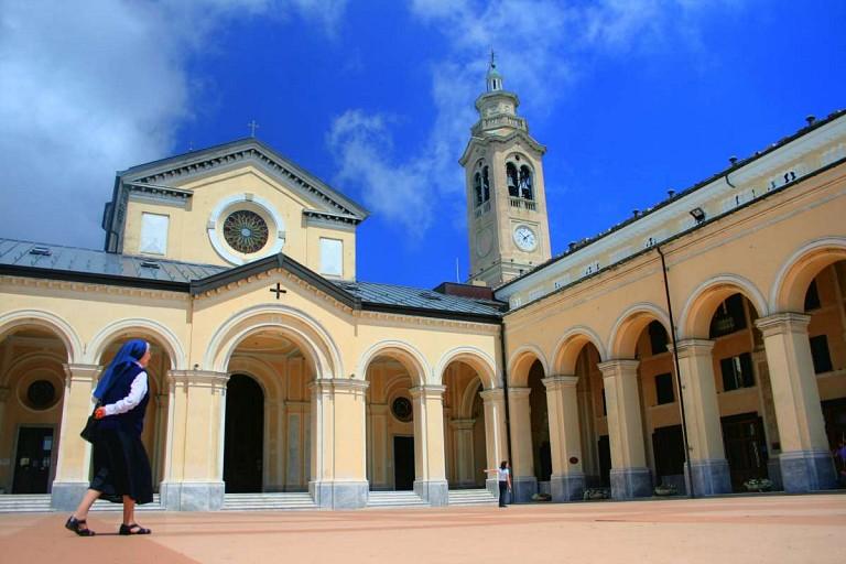 Santuario Nostra Signora della Guardia Castiglione Chiavarese
