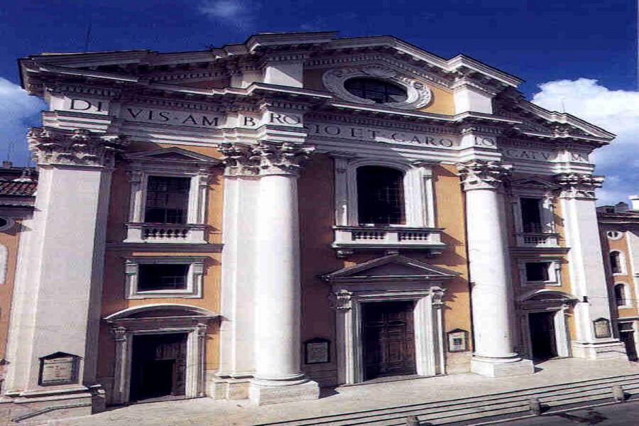 Santuario Basilica dei Santi Ambrogio e Carlo al Corso
