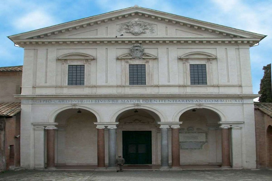 Basilica di san sebastiano fuori le mura - Le finestre sul vaticano ...