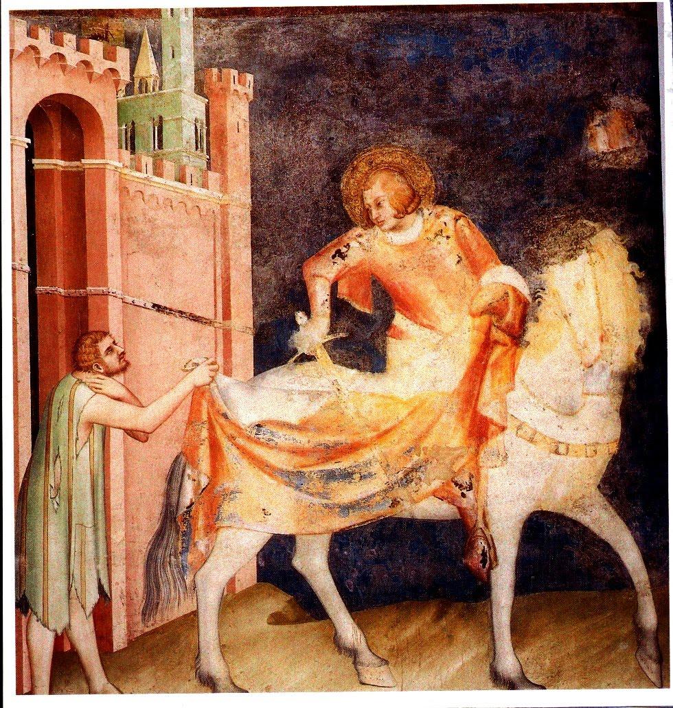 San Martino e il povero
