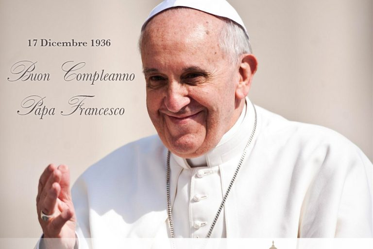 compleanno Papa Francesco