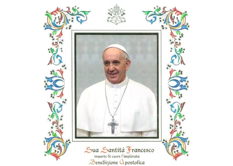 Benedizione Papa
