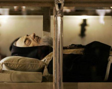 Spoglie Padre Pio