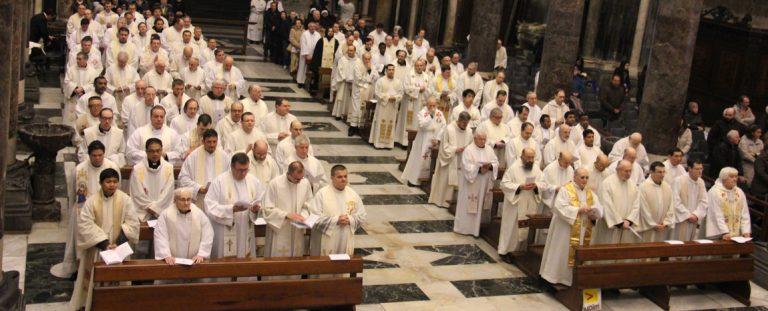 Giubileo dei sacerdoti e dei seminaristi