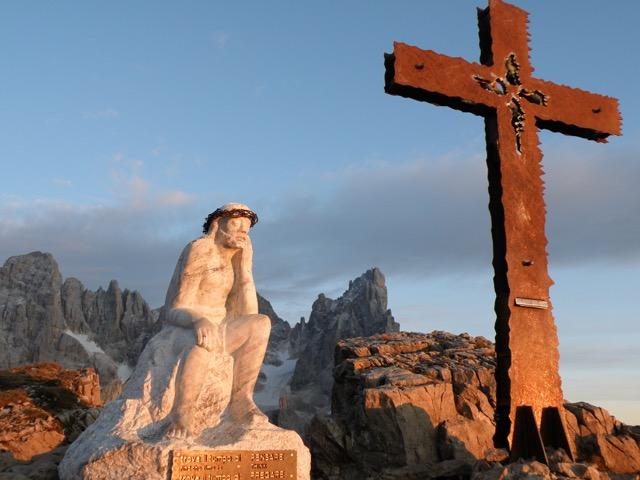 Il Trekking del Cristo Pensante delle Dolomiti
