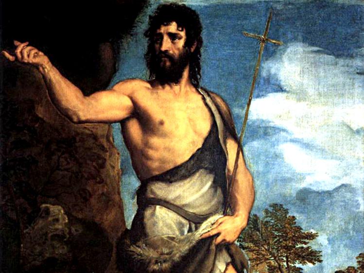 """""""San Giovanni Battista"""" Tiziano"""