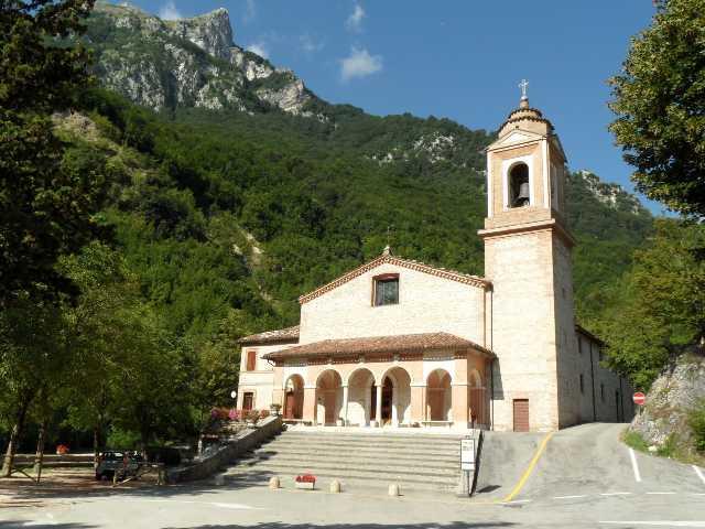 Santuario Madonna dell'Ambro - Montefortino (FM)