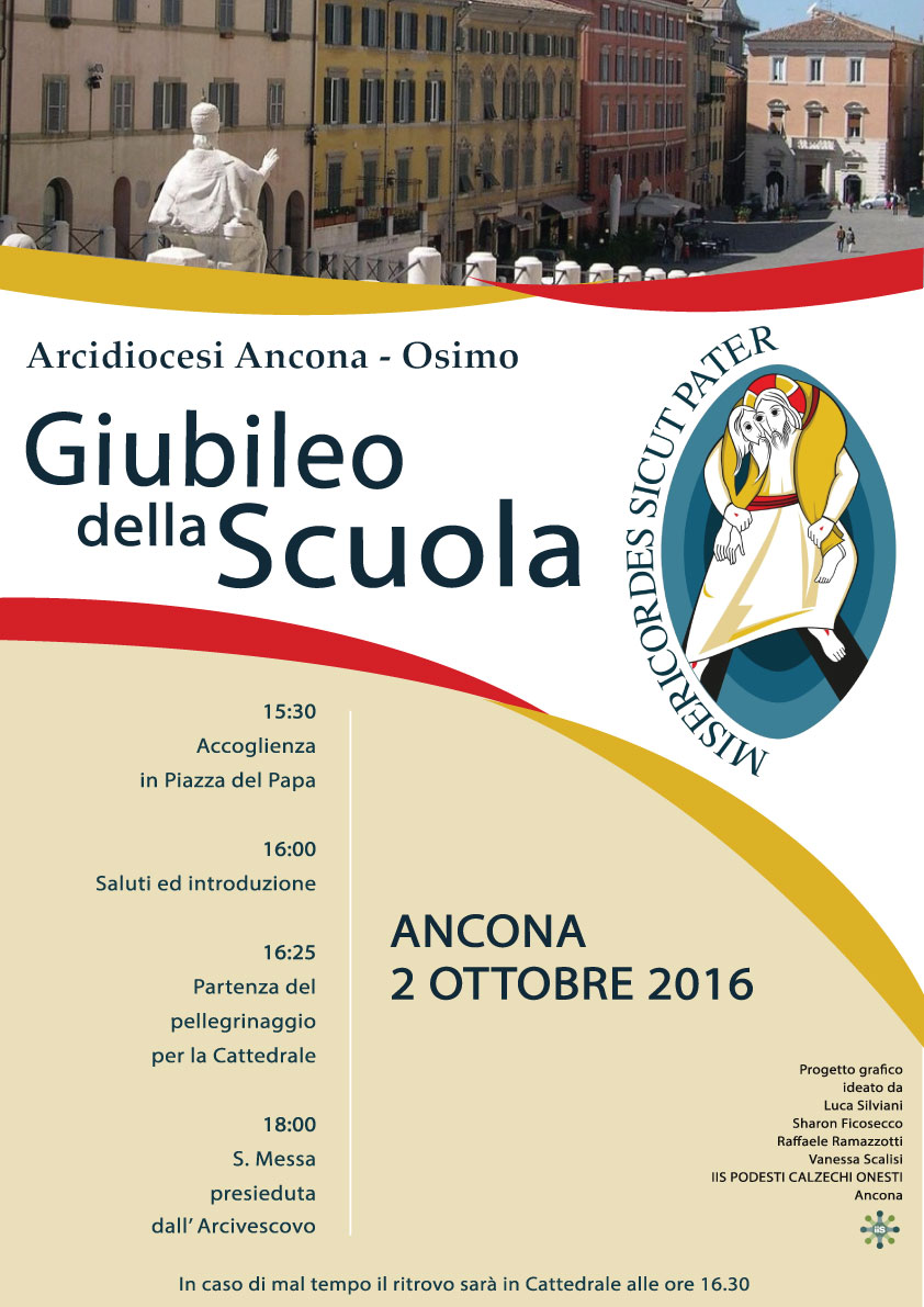Giubileo della Scuola , Diocesi Ancona-Osimo, 2 ottobre 2016