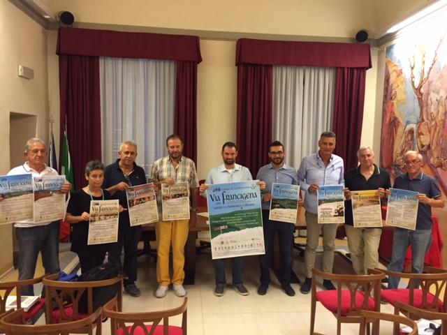 """""""Via Francigena 2016. Il Cammino di Sigerio e le traversie di Messer Grazia"""" Castelfiorentino, 1-2 ottobre 2016"""
