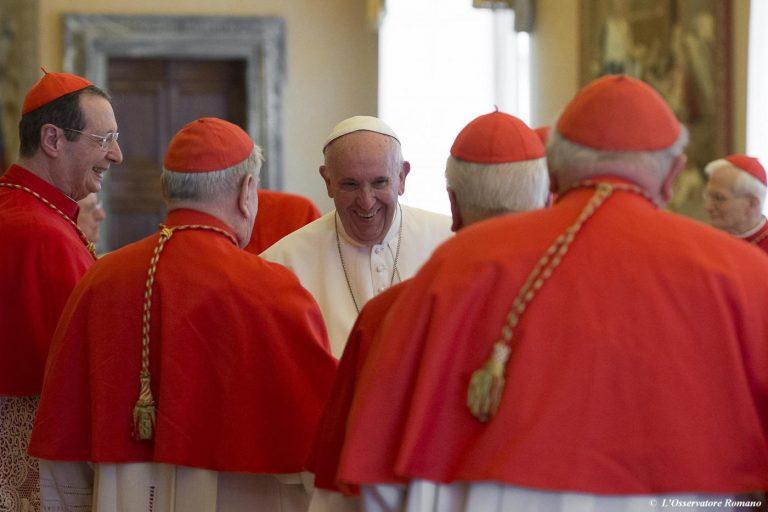 Concistoro con Papa Francesco
