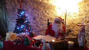 Bazzano, il paese dei presepi_la casa di Babbo Natale