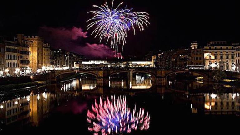 San Giovanni Battista Fuochi Artificio Firenze