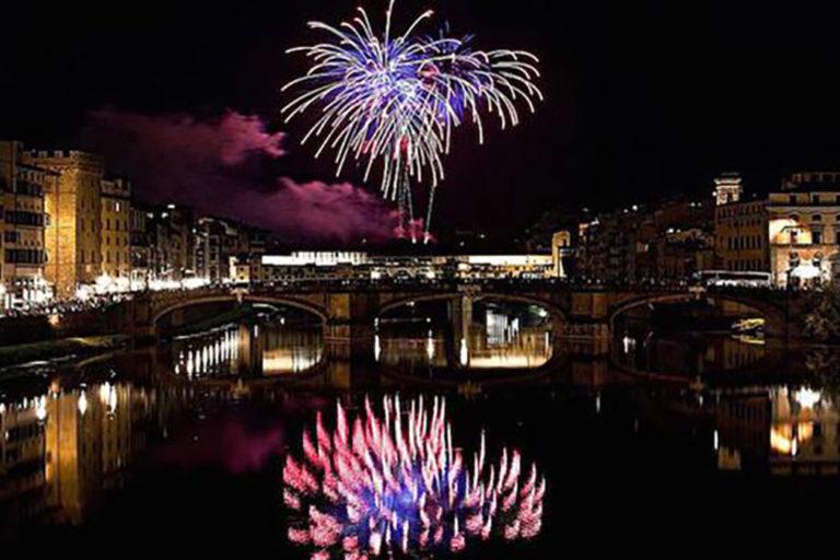 San Giovanni Battista Fuochi Artificio Firenze