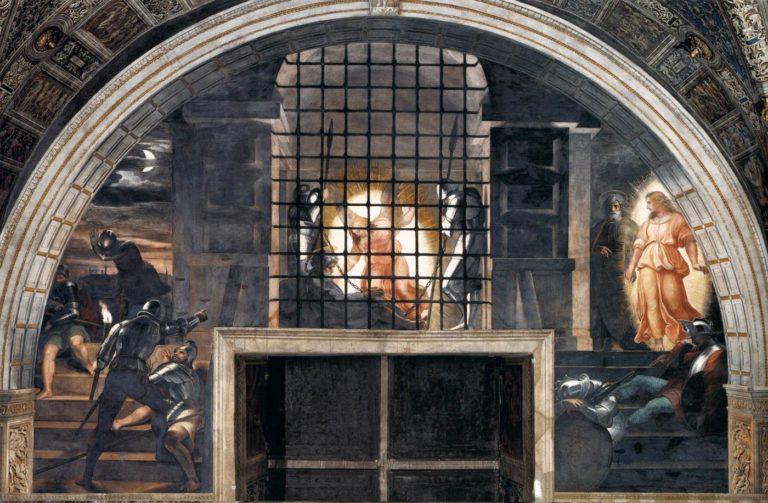 Raffaello La Liberazione di San Pietro