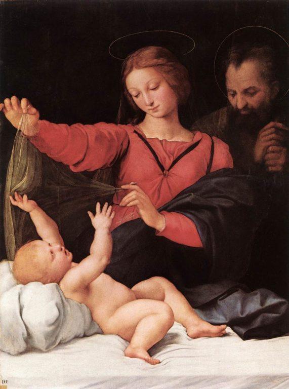 Raffaello Madonna del Velo