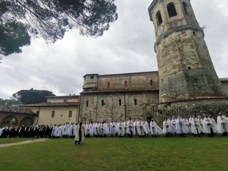 I templari cattolici d'italia all'abbazia di montecorona